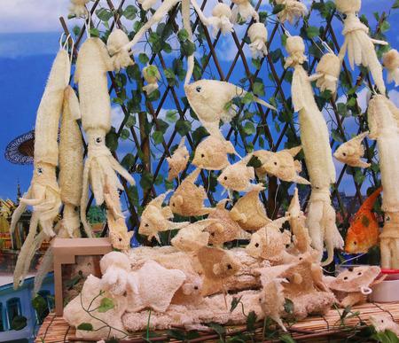 luffa: fish luffa. for health