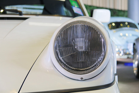 classic car front light