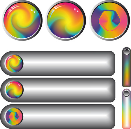 collection of rainbow Stock Vector - 4684387