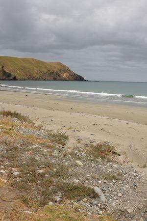 port jackson: Remote Port Jackson beach on the Coromandel Peninsula New Zealand