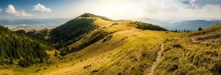 liptov: Landscape, Hill Before Sunset