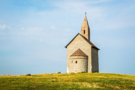 11th century: Old Roman Catholic Church of St. Michael the Archangel on the Hill in Drazovce, Slovakia
