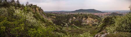 Back Quarry (Zadní lom) Near Mikulov, Czech Republic