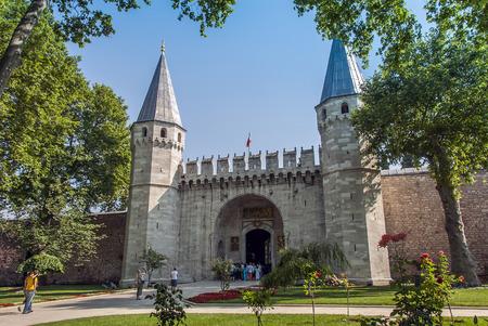 Istanbul, Turkey, 4 July 2007: Topkapi Palace