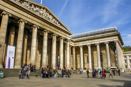 London, UK, 1 November 2012: British Museum