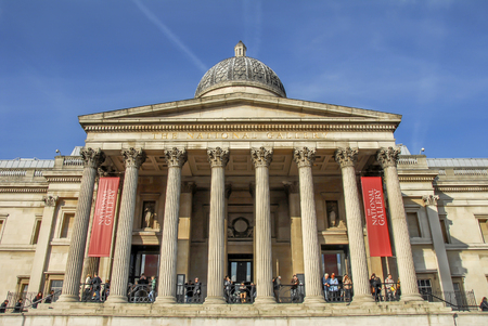 London, UK, 30 October 2012: The National Gallery