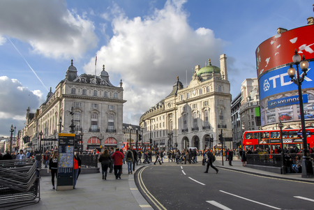 London, UK, 30 October 2012: Piccadilly Circus