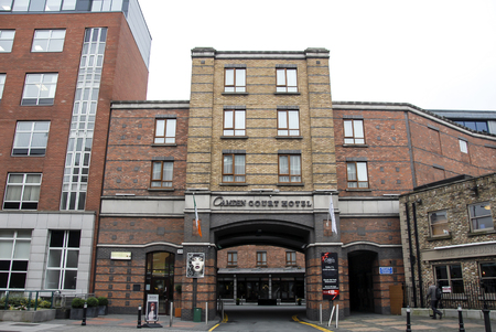 Dublin, Ireland, 24 October 2012: Camden Court Hotel