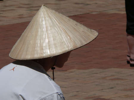 coolie hat: Chinese coolie hat