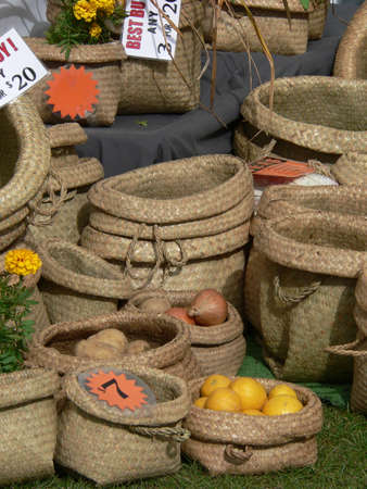 Cane baskets for sale