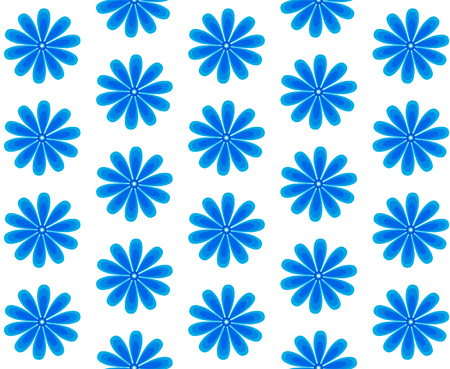 background of blue flowers, cornflower, pattern, floral.