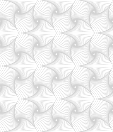 Monochrome line abstract geometric vector seamless pattern. Stok Fotoğraf - 76335963