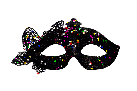to conceal: Carnival fancy mask.