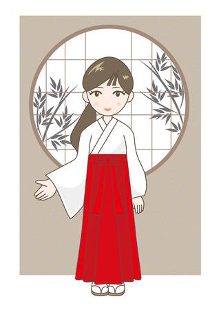 shrine: at the shrine maiden
