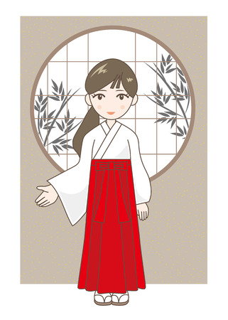 at the shrine maiden