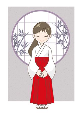 kobe: at the shrine maiden