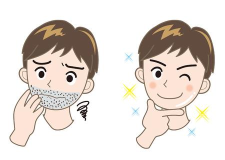 Mens Esthetic-beard Çizim