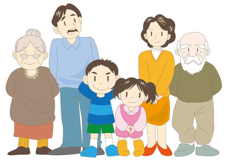 grandparent: Family (parents, children and grandparent)