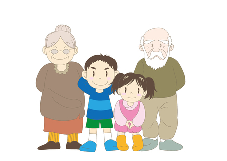 Family (Grandparent and children)