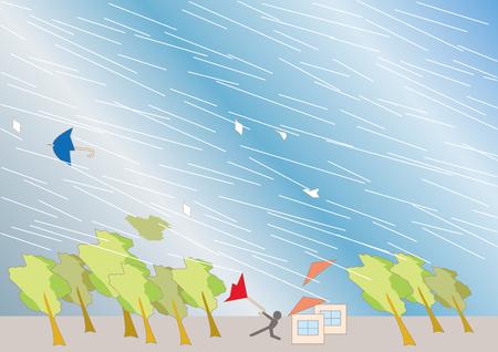 Background image of typhoons