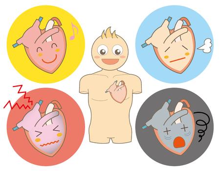 heart condition  set