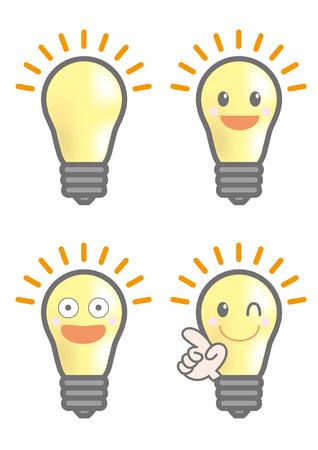Inspiration Light bulb set