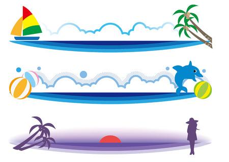 summer title banner image-three set