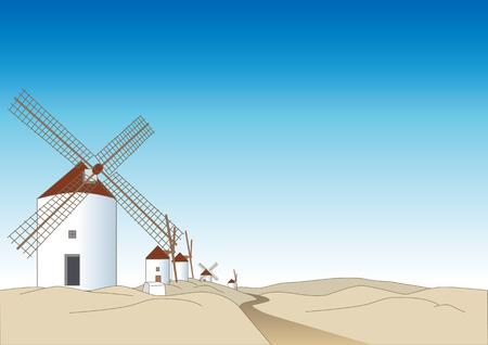 Windmill of La Mancha