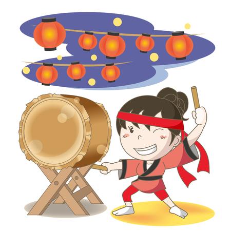 Japanese drum