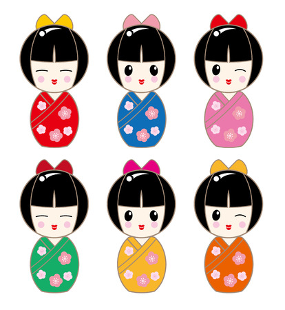 KOKESHI Avatar Set - Girl