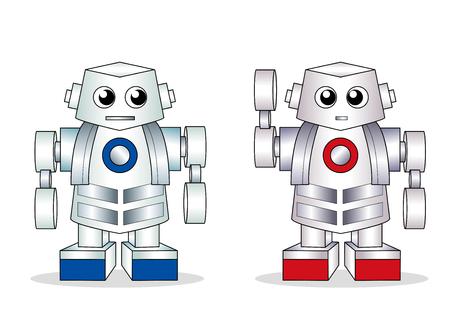 ロボットペア人工知能、AI画像