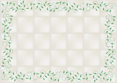 ceramic tile and vine
