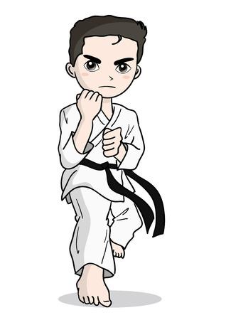 Karate image-Boy