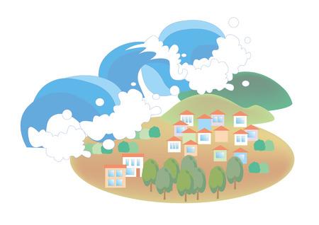 tsunami-Natural disaster image