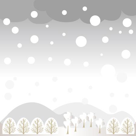 Winter landscape image