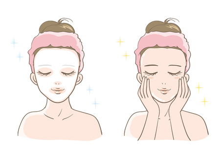 Womens esthetic skin care set