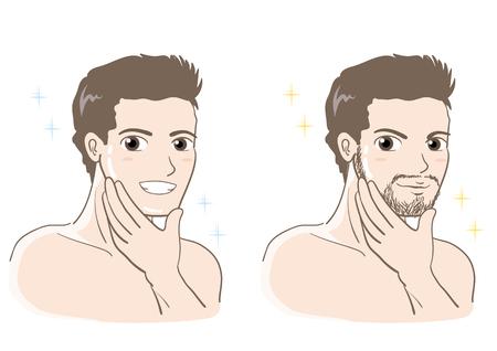 Men's esthetic skin care set
