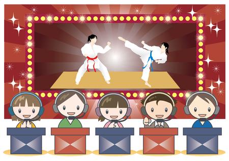 e-Sports battle scene image-Fighting