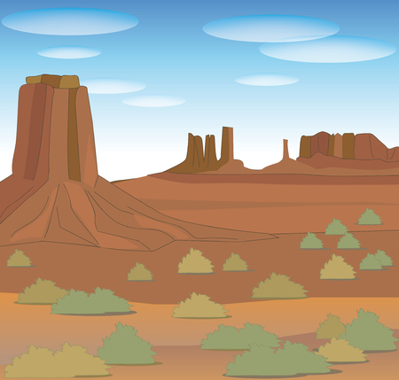 Monument valley-Nature image of North America