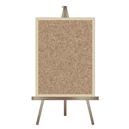 Stand signboard-easel & cork board-Vertical type
