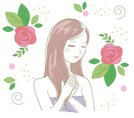 Organic Rose - hair care women