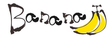 Doodle style Typography - Banana 스톡 콘텐츠 - 141957408