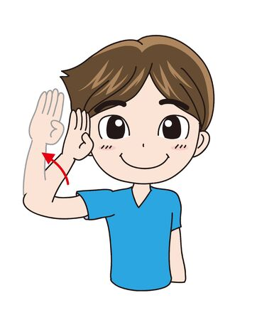 International Sign Language - Hello (Man)
