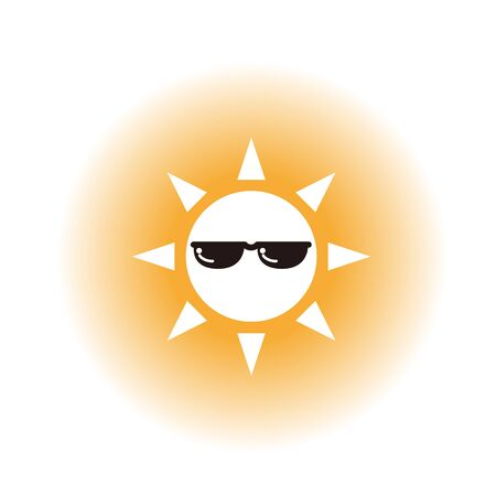 The Sun Wearing Samsungs image (transparent background)