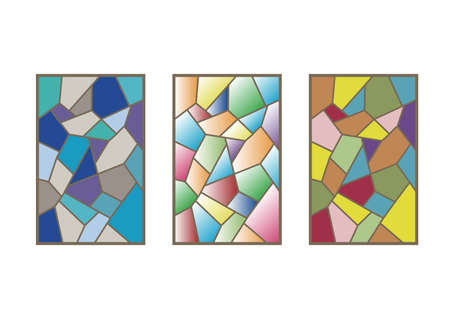 Stained glass window - Variation 3 set