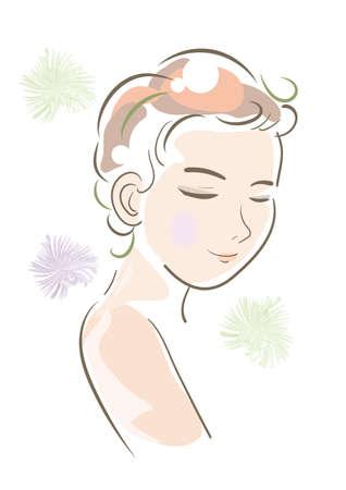 LGBT, transgender people image - Flat vector illustration