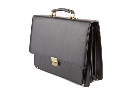 Black business briefcase  photo