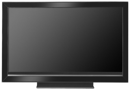 wideview: frontal view of widescreen lcd monitor