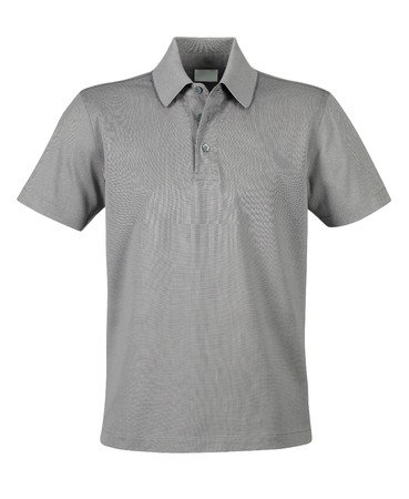 polo shirt: Front of clean grey T-Shirts (Polo)