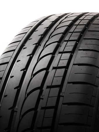 stepping: Illustration of Car Tire on white background. Tyre Cap for background Stock Photo